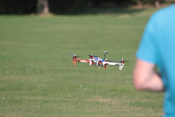 Quadcopter First Flight