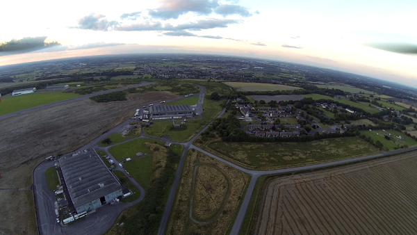 Wroughton and Swindon from Wroughton Airfield