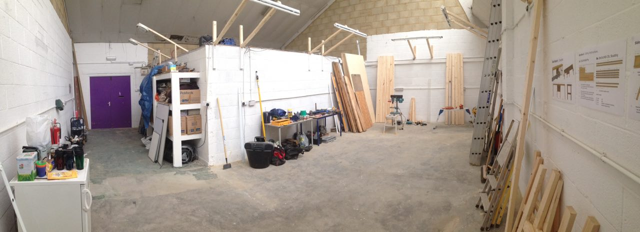 Makerspace pano on 22nd Mar
