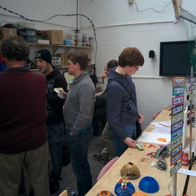 "Swindon Makerspace Opening Weekend • <a style=""font-size:0.8em;"" href=""http://www.flickr.com/photos/94299919@N02/26706605406/"" target=""_blank"">View on Flickr</a>"