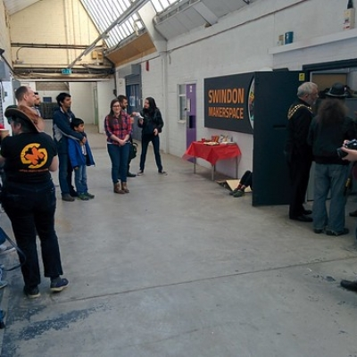 "Swindon Makerspace Opening Weekend • <a style=""font-size:0.8em;"" href=""http://www.flickr.com/photos/94299919@N02/26126075224/"" target=""_blank"">View on Flickr</a>"