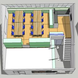 Mezz layout option