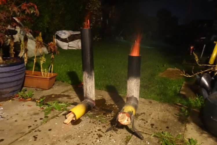 Member Project: Rocket Stove